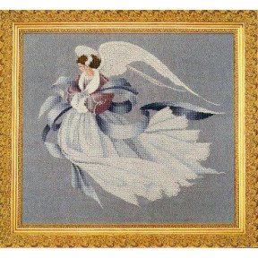 Схема для вышивания  Lavender Lace Angel of Winter LL33
