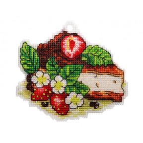 Набор для вышивки крестом Alisena Пироженко – Чизкейк 8018а