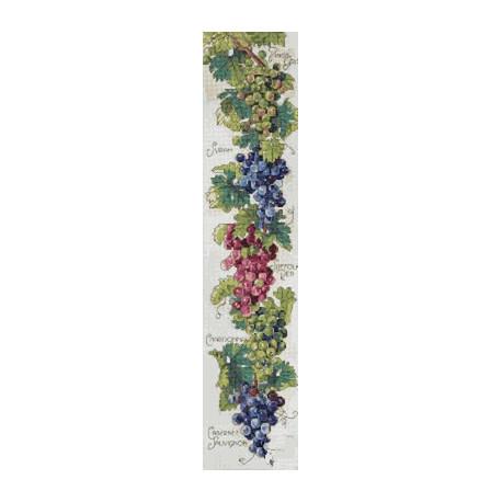 Набор для вышивания Janlynn 023-0356 Grapes Bell Pull фото