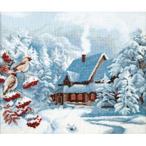 """Набор для вышивки крестом Чарівна Мить """"Морозный вечер"""" М-385"""