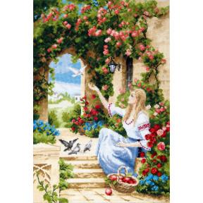 """Набор для вышивки крестом Чарівна Мить """"Вестник счастья"""" М-388"""