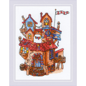 """Набор для вышивки крестом Риолис """"Сказочный домик"""" 1844"""