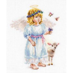 Набор для вышивки крестом Алиса Светлый ангел 0-202