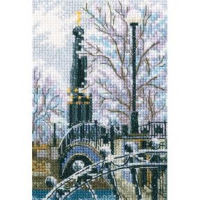 Набор для вышивки RTO Мостик вздохов в Лопатинском саду C307