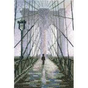 Набор для вышивки RTO Бруклинский мост C312