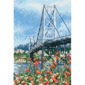 Набор для вышивки RTO Висячий мост Эрсилью Луш C306