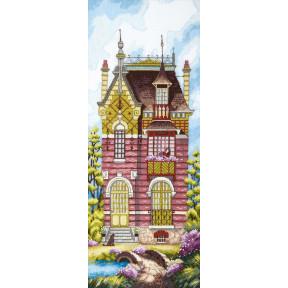 Набор для вышивания крестом  Чарівна Мить Дом мечты ВТ-253