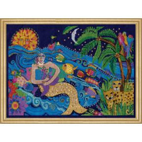 Набор для вышивания Design Works Mermaid 3382