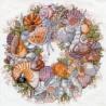 Набор для вышивания Janlynn 023-0359 Seashell Wreath фото