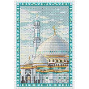 Набор для вышивки крестом МП Студия Мечеть Хазрет Султан М-078