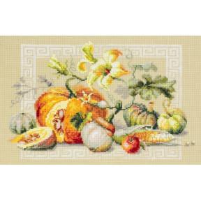 """Набор для вышивки крестом Чудесная игла """"Праздник урожая"""" 120-111"""
