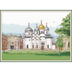 """Набор для вышивки крестом Овен """"Софийский собор. Великий Новгород"""" 1219"""