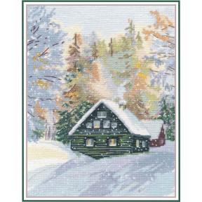 """Набор для вышивки крестом Овен """"Околдованный лес"""" 1243"""