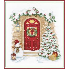 """Набор для вышивки крестом Овен """"Праздник в дверь стучится"""" 1249"""
