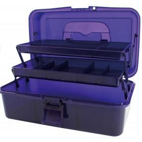 "Коробка-органайзер ""L"" Фиолетовый Bohin (Франция)  98784"
