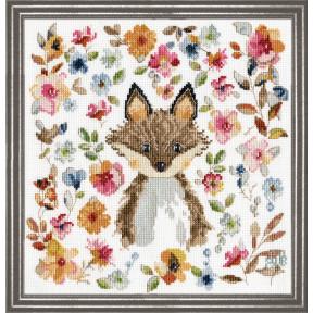 Набор для вышивания Design Works Fox 3275