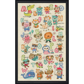 Набор для вышивания Design Works ABC Cute Animals 3269