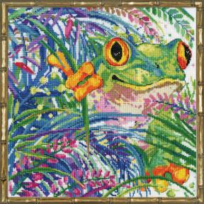 Набор для вышивания Design Works Tree Frog 3267