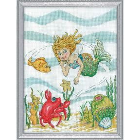Набор для вышивания Design Works Mermaid 3273