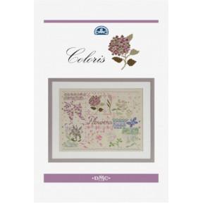 Буклет-схема Coloris - Flowers DMC  15276/22