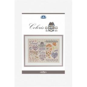 Буклет-схема Coloris - Home DMC  15278/22