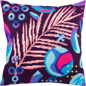 Набор для вышивки подушки Чарівниця  Перья V-279