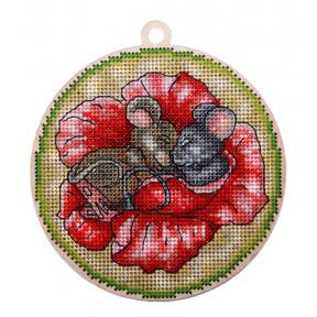 Набор для вышивки крестом Alisena Новогодняя – Сладкий сон 5567а