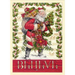 Набор для вышивания Dimensions Belive in Santa 08980