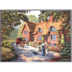 Набор для вышивания Dimensions  Почтальон (The Postman) 35118