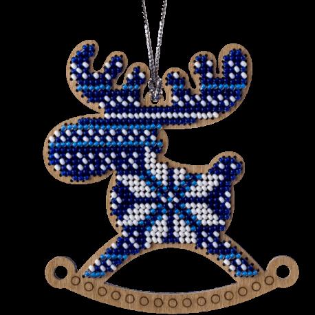 Набор для вышивания бисером по дереву Волшебная страна FLK-224