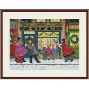 Набор для вышивания крестиком OLanTa Подарки к Рождеству VN-137