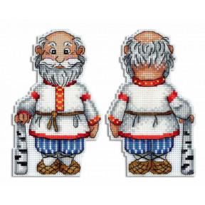 Набор для вышивки крестом МП Студия Дедушка Р-467