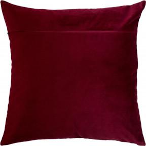 Обратная сторона наволочки для подушки Чарівниця VB-311: Бордо (бархат).