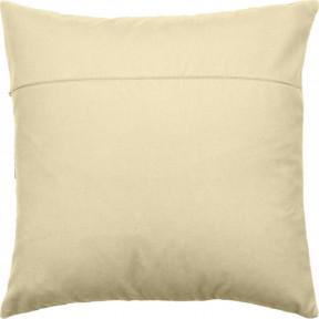 Обратная сторона наволочки для подушки Чарівниця  VB301 Молоко (бархат)