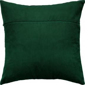 Обратная сторона наволочки для подушки Чарівниця  VB-308 Нефрит (бархат)