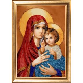 Набор для вышивания бисером Butterfly Мадонна с Иисусом 827Б