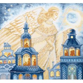Набор для вышивания крестом  Чарівна Мить Ангел, несбыточные сны. ВТ-243