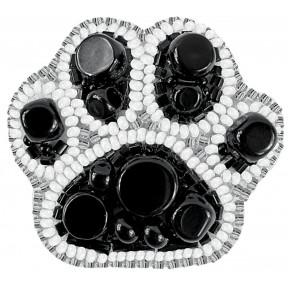 """Набор для изготовления броши Crystal Art """"Лапка"""" БП-254"""