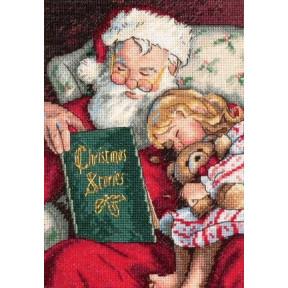 Набор для вышивки крестом Dimensions Christmas Stories 08786