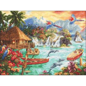Набор для вышивания LETISTITCH Island Life LETI 925