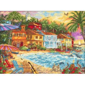 Набор для вышивания LETISTITCH Island time LETI 926