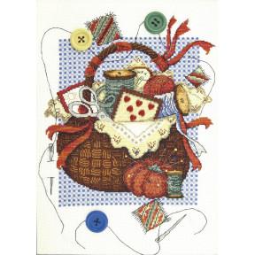 """Набор для вышивки крестом Чарівна Мить """"Корзинка вдохновения"""" М-391"""