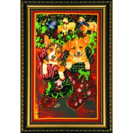 Набор для вышивания бисером Абрис Арт АВ-049 Подарки фото