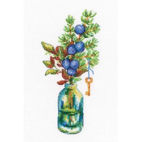 Набор для вышивки крестиком RTO Лесные бутоньерки C322