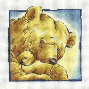 Набор для вышивки крестиком RTO Мама C192