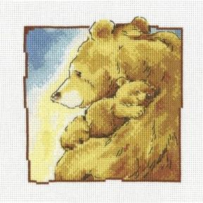 Набор для вышивки крестиком RTO Мама C195