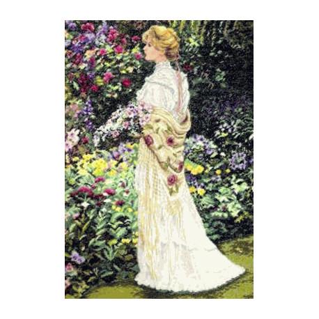 Набор для вышивки крестом Dimensions 35119 In her Garden фото
