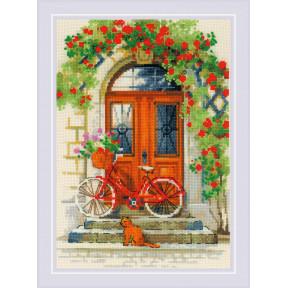 """Набор для вышивки крестом Риолис """"Дверь в Италию"""" 1831"""