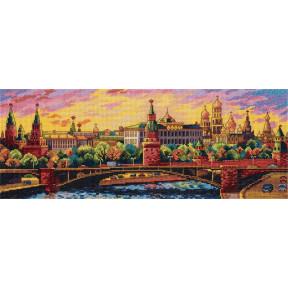 """Набор для вышивки крестом Panna  """"Вечерняя Москва"""" Г-7139"""