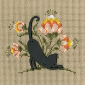"""Набор для вышивки крестиком RTO """"Кошка"""" CBE9002"""